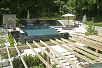 Swimming Pool & Spa Design by Markville Landscaping