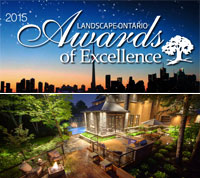 2015 Award of Excellence by Landscape Ontario