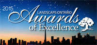2015 Landscape Ontario Award of Excellence Winner
